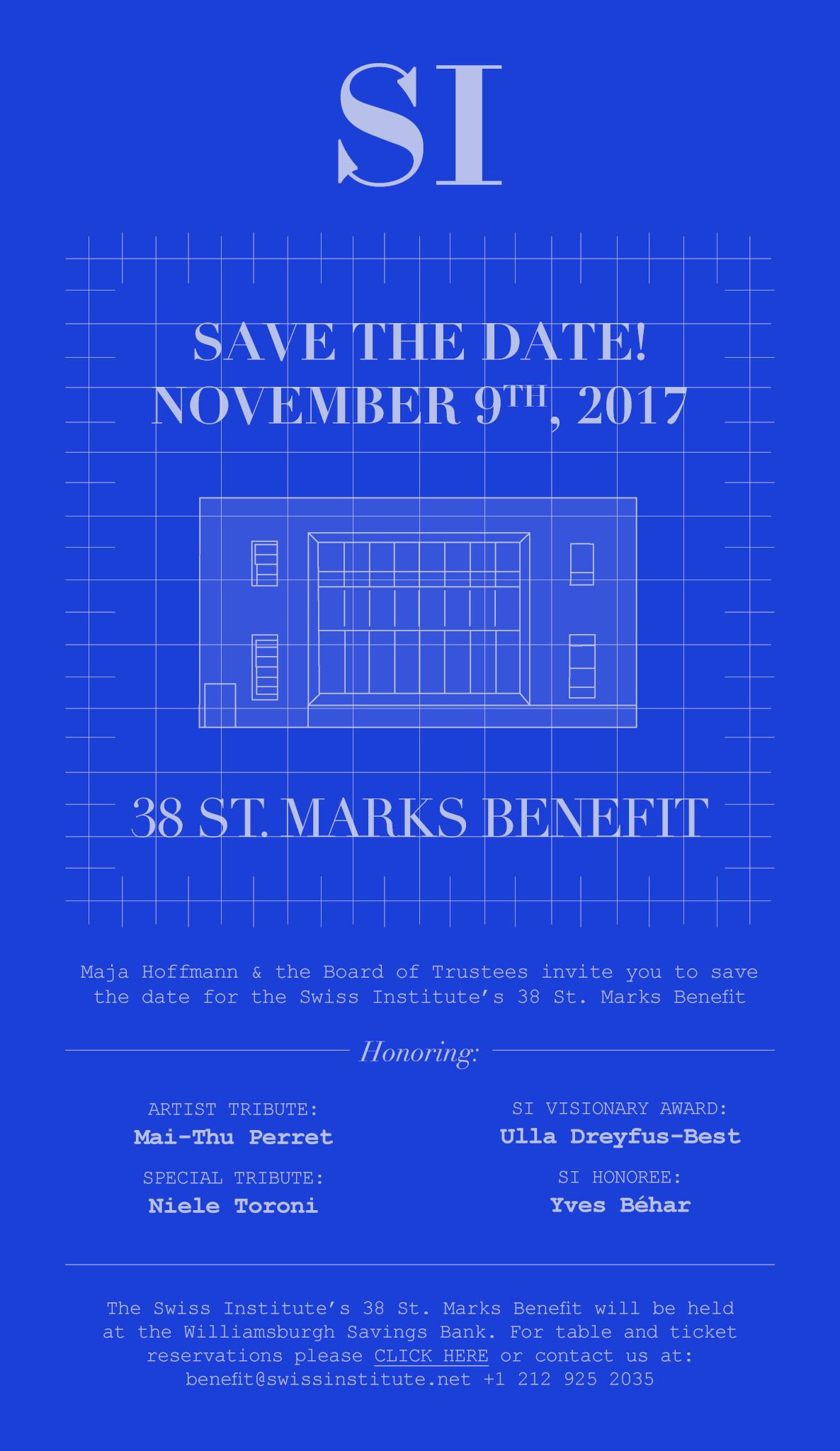 Benefit 2017 announcement
