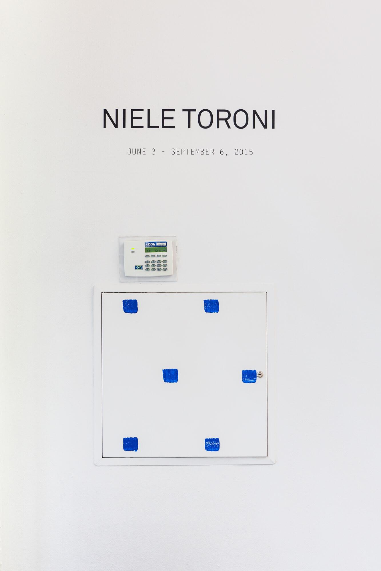Niele Toroni