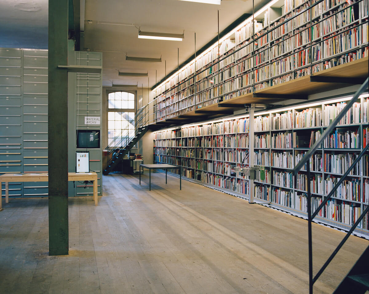 The Dynamic Library: Organizing Knowledge with Anthon Astrom and Lukas Zimmer (Astrom / Zimmer), David Reinfurt (Dexter Sinister, The Serving Library), Ben Vershbow (NYPL Labs), Ariane Roth and Roland Früh (Sitterwerk), and Conrad Lochner (Swiss Institute)