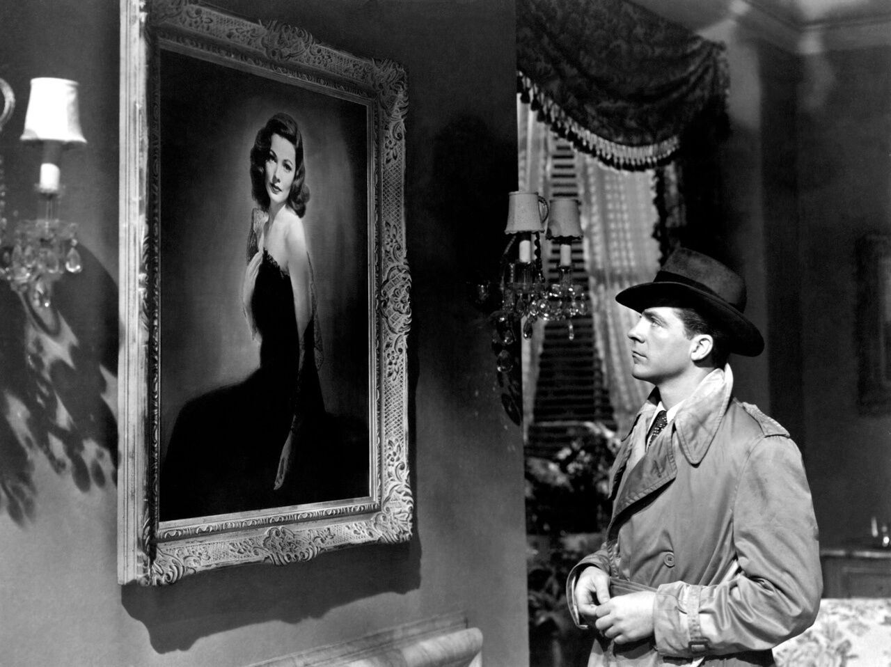 Still from Laura (1944) The Dark Galleries Stephen Jacobs Fade In