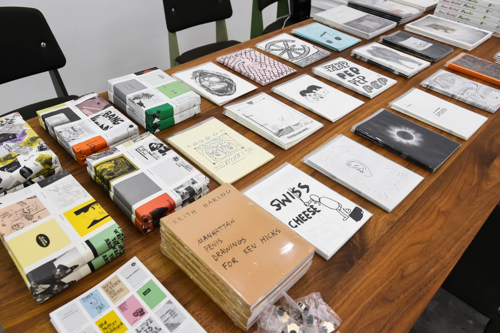 Swiss In Situ | Nieves and Innen Zine Library