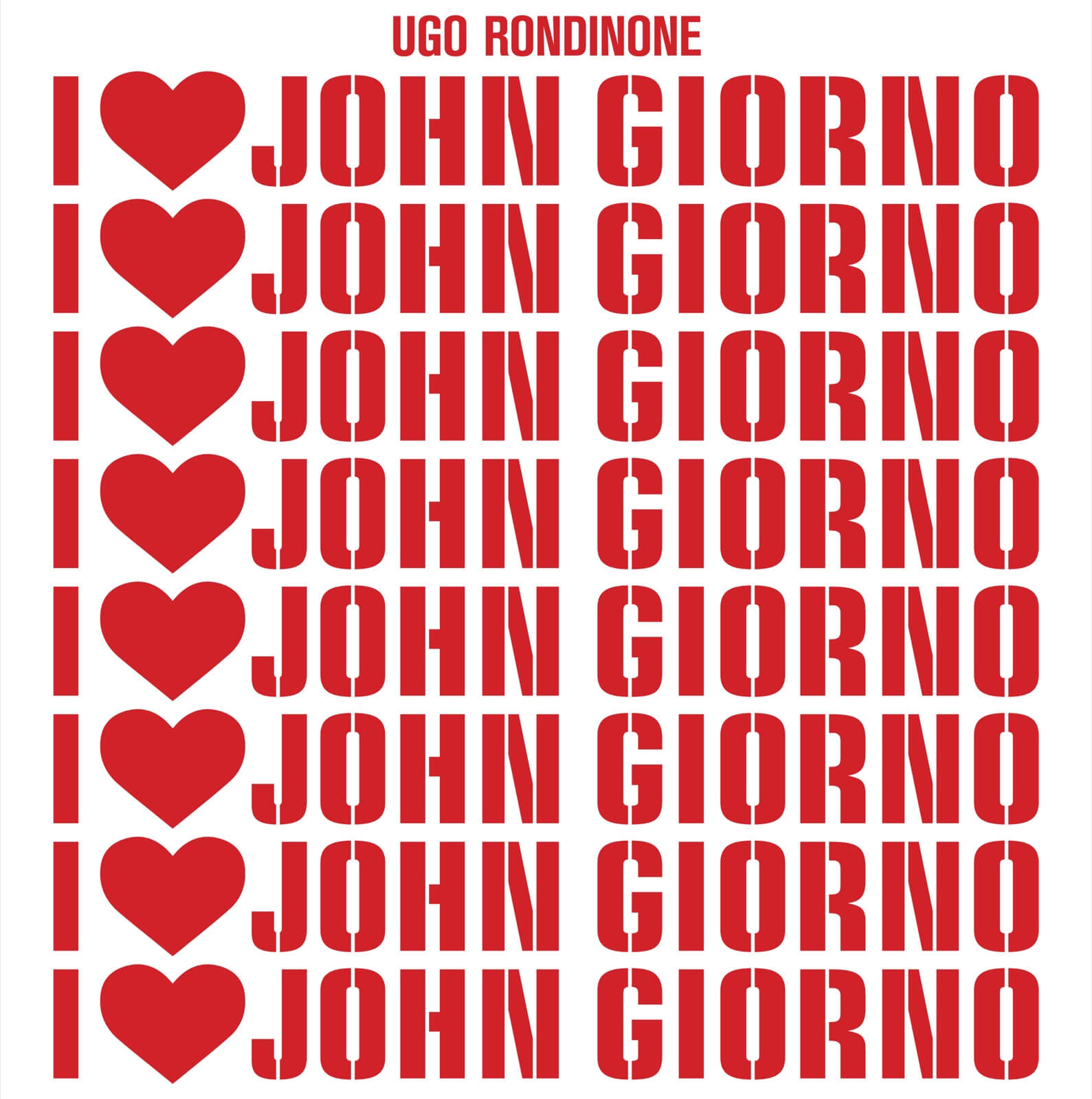 I Love John Giorno Swiss Institute