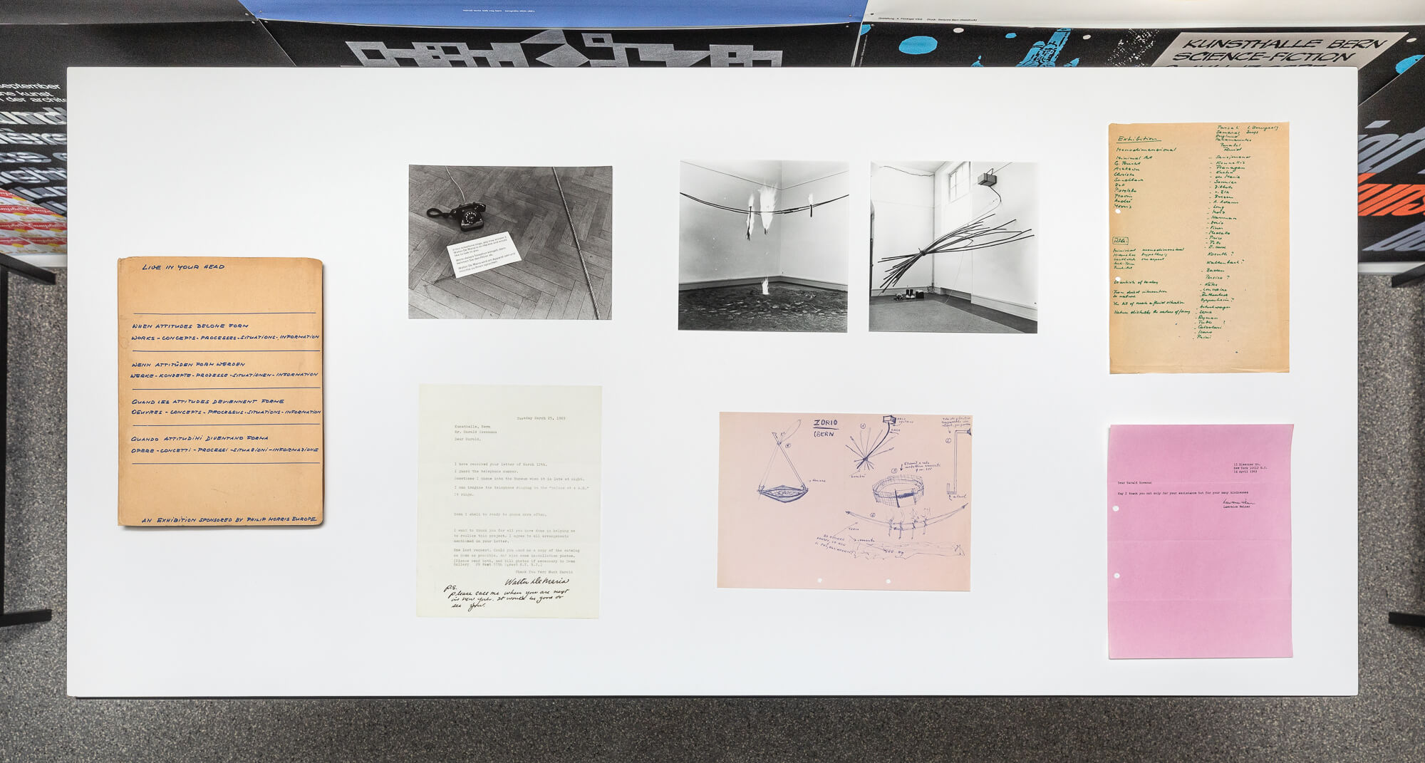 Harald Szeemann Study Room Grandfather A Pioneer Like Us When Attitudes Become Form