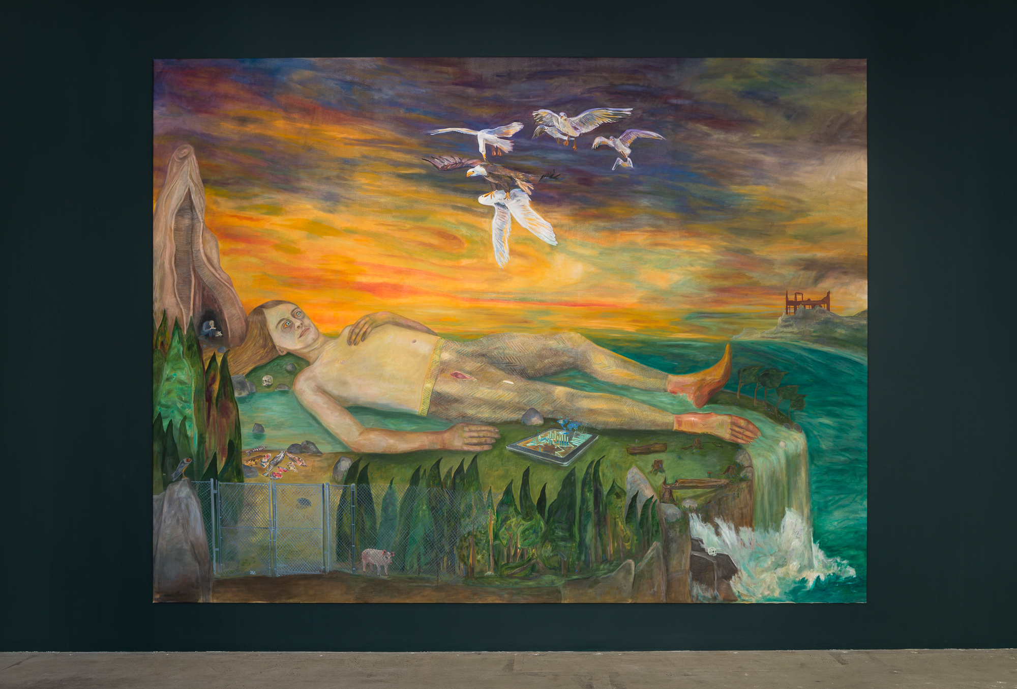 Jill Mulleady: Fight-or-Flight at Swiss Institute A Fantasy of Transcendence and A Preoccupation with Downfall and Ruin