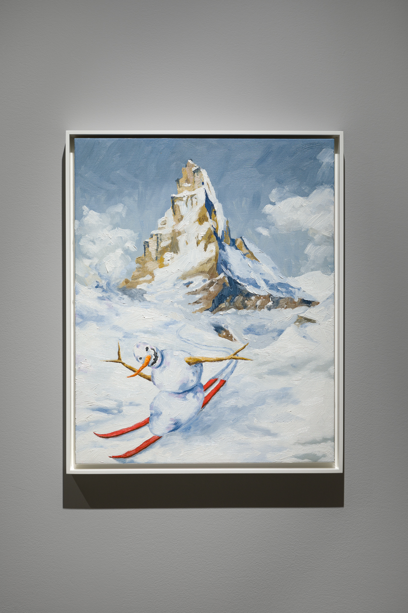 Jan Kiefer: Skiing Snowman Swiss Institute