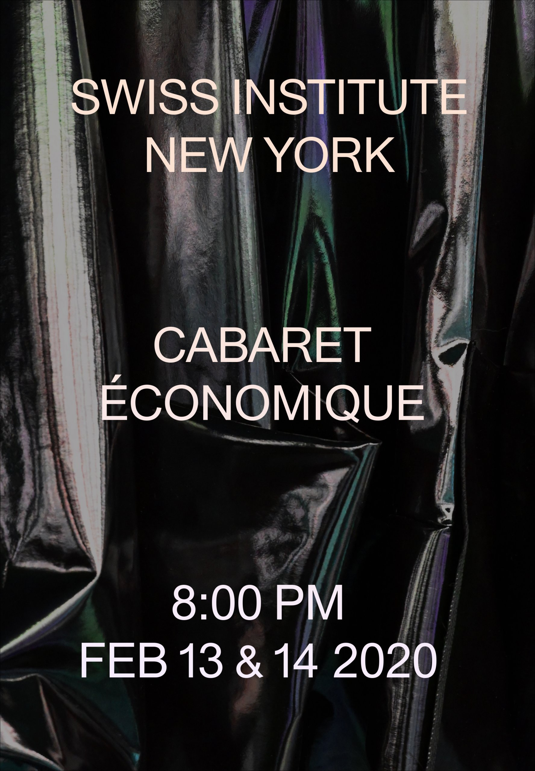 Performance | Cabaret Économique with Irena Haiduk, Dean Kissick, Christian Schmitz and more Swiss Institute