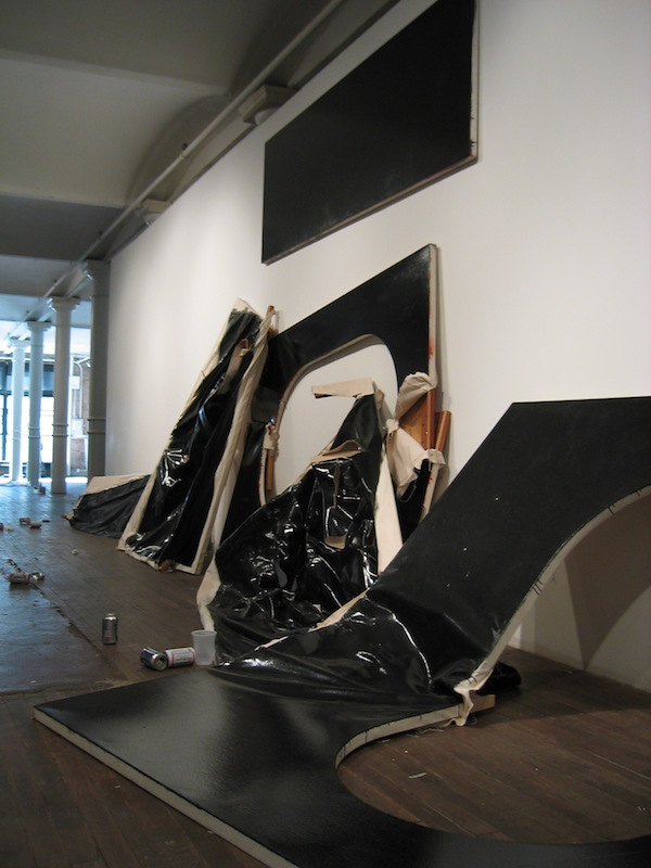 Black Bonds Swiss Institute Jutta Koether Steven Parrino