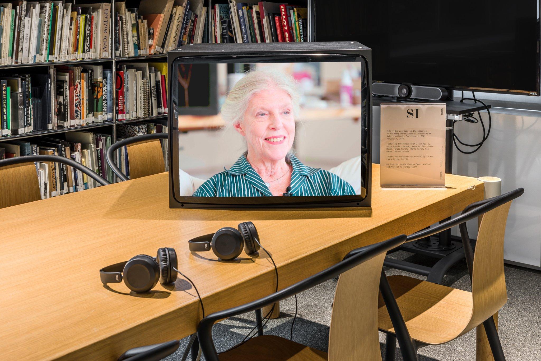 Rosemary Mayer: Ways of Attaching Swiss Institute